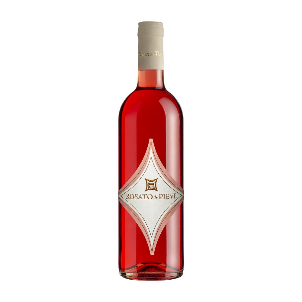 foto still life vino rosato